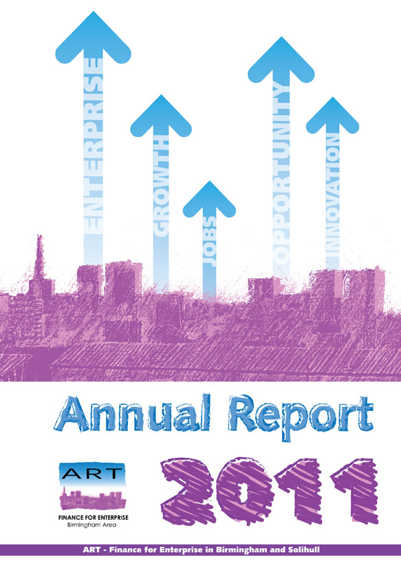 Art Annual Report Cover